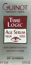 Guinot Time Logic Age Serum Yeux Eyes Eye Contour Care Atp Actinergie 15ml-0.5oz