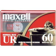 Maxell 109010 UR-60 Audio Normal bias 60 Min Cassette Tape