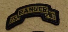 ARMY PATCH, 75TH RANGER REGIMENT ,MULTI-CAM,SCORPION, WITH VELCRO