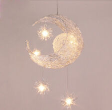 Moon & Star Children Kid Child Bedroom LED Pendant Lamp Chandelier Ceiling Light