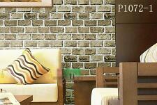 AU SELLER 45cmx10m Roll Brick Pattern Vinyl Furniture Wall Paper Sticker p1072-1