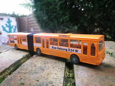 Ancien BUS MERCEDES WIKING 705 HO 1:87 MB O 305 G ORANGE Neuf en boite