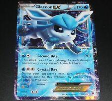 Glaceon EX 20/124 XY Fates Collide NEAR MINT Ultra Rare Pokemon Card