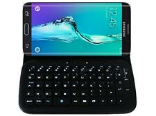 Top, Samsung Galaxy S6 Edge Plus Bluetooth Keyboard Portfolio Flip Case
