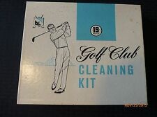Vintage Golf Club Cleaner Kit Brandel Products 19  Hole Collectible Original Box