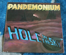 PANDEMONIUM HOLE IN THE SKY 1985 US LP METAL BLADE RECORDS MBR 1052 72089-1