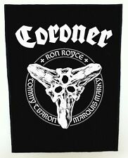 CORONER BACKPATCH / SPEED-THRASH-BLACK-DEATH METAL