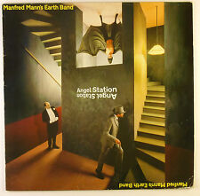 "12"" LP - Manfred Mann's Earth Band - Angel Station - B2321 - with poster"