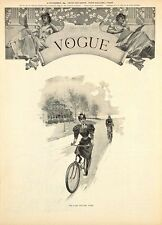 1894 Vogue Cover 8 x 10 Giclee Print