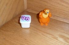Bear in the Big Blue House Toys Bear  Pip & Pop moving action   Cake Toppers