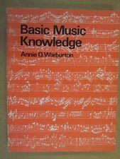 Libros de música de fondo de conocimientos Annie o Warburton