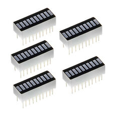5 Stück 10 Segment Digital Rote LED Balkenanzeige Bar Display Hell GY