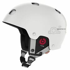 POC RECEPTOR BUG COMMUNICATION Snow Helmet - White - Large