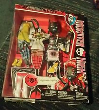 NEW IN BOX MONSTER HIGH WYDOWNA SPIDER I LOVE FASHION WEBARELLA