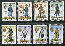 Macao 404-411, MNH, Soldiers Military Uniforms Complete Set, 1966. x16095