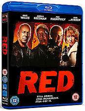 Red (Bruce Willis / Morgan Freeman) **NEW & SEALED** BLU RAY