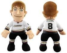 """NWT Anaheim Ducks NHL #8 Teemu Selame 10"""" Plush Doll by Bleacher Creatures"""