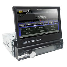 "1 DIN 7"" Touch Screen In dash Deck Car Stereo DVD Player Bluetooth TV Radio Ipod"
