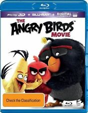 The Angry Birds Movie (3D Blu-ray, 2016, 2-Disc Set) (Region B) Aussie Release