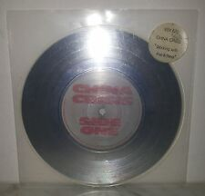 "7"" 45 GIRI CHINA CRISIS - WORKING WITH FIRE & STEEL - SILVER"