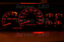 Silverado Tahoe Yukon SIERRA Suburban GMC  1995-1999 CHEVY LED CLUSTER KIT RED
