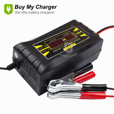 Full Automatic Smart 12v 10a Lead Acid/GEL Battery Charger with LCD Display