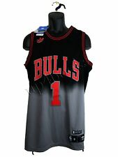Adidas Trefoil Authentic Derrick Rose Chicago Bulls LE Basketball NBA Jersey SM