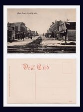 OHIO VAN WERT COUNTY OHIO CITY MAIN ST IN SNOW BY WEXELBAUM, LIMA, CIRCA 1907