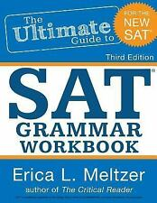 The Ultimate Guide to SAT Grammar Workbook by Erica L. Meltzer Paperback Book (E