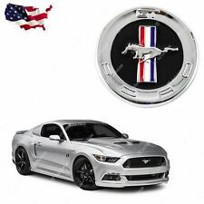 Running Horse Emblem Chrome Metal Door Fender Badge Sticker for Ford Mustang
