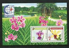 Singapore 597b, MNH, Flowers Orchids 1991. x18588