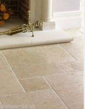 Tumbled Classic Travertine Opus Pattern Floor Tiles