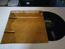 33 TOURS / LP--GEORGES BRASSENS VOL.2--LES AMOUREUX DES BANCS PUBLICS