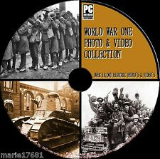 10,000+ ww1 PHOTO & video archivio, 14-18 PRIMA GUERRA MONDIALE STORIA NUOVO PC DVD ROM