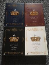 WWE ROYAL RUMBLE THE COMPLETE ANTHOLOGY 1988-2007 ALL 4 SET BOXES DVD