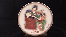 "1980 "" The Christmas Trio"" by: Norman Rockwell"