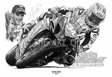 Alastair Seeley Northwest 200 Relentless TAS Suzuki GSXR by Billy fine art print