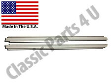 1957 58 FORD EDSEL EXTENDED LENGH OUTER ROCKER PANELS  2DOOR  PAIR FREE SHIPPING