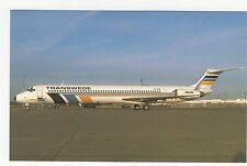 Transwede Douglas MD-83 SE-DHB Aviation Postcard, A746