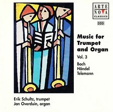 MUSIC FOR TRUMPET AND ORGAN VOL. 3 - BACH, HÄNDEL, TELEMANN / CD - NEUWERTIG