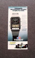 [GCG] M467 - Advertising Pubblicità - 1979 - TISSOT , F.1 WITH TEAM LOTUS