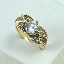 Mystic ring 18k gold filled lady forever love ring gift SIZE 9