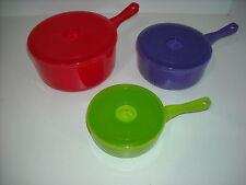 6 Pc  Multi Color Microwave Cookware 2 Sets = 12 Pcs