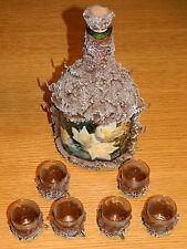 distillerie bonollo VINTAGE ancien BOUTEILLE old bottle alt FLASCHE kitch ALCOOL