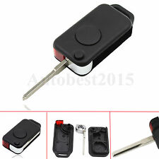 1 Button Remote Key Shell Case Fob For Benz Mercedes W168 W124 W202 1984-2004