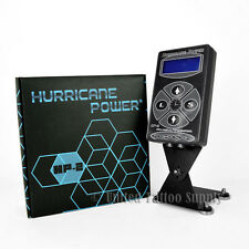 Hurricane HP-2 Black Dual Digital LCD Tattoo Power Supply - 2015 New Version