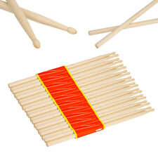 10 Pair Music Band Maple Wood Drum Sticks Drumsticks 5A