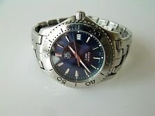 GENT'S STAINLESS STEEL  TAG HEUER LINK QUARTZ WRIST WATCH REF: WJ1112-0