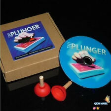 Sale!! Tiny Plunger (Gimmick+DVD) by Jon Armstrong,Close Up Magic,Fun Trick,Card