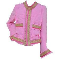 Rare Runway AD 2007 Junya Watanabe Comme des Garcons Hot Pink Jacket NEW S